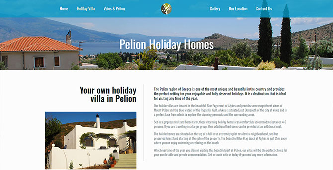 Pelion Holiday Villa
